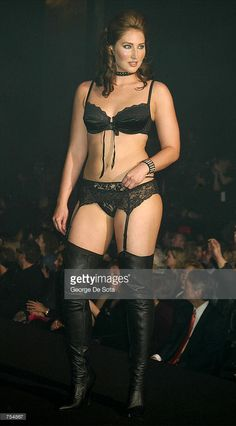 ea6684b1934 A plus-size model walks the runway during the Lane Bryant Lingerie Fashion  Show February