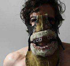 ooh! strange masks!