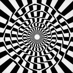 Perfect circles but our brain see it differently.