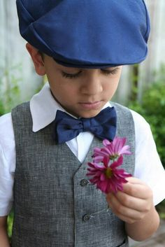Ring bearer, instead of pink, use red rose
