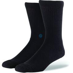 Stance Icon Men's Socks Black/Navy L/XL