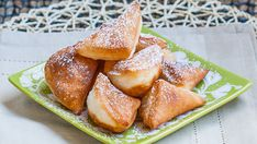 Mandazi, African Donuts with Coconut Milk
