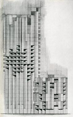Gian Paolo Valenti. Casabella 256 1961: 44