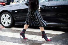 20 idee per indossare calzini e tacchi alti in inverno