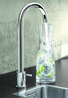 Grohe Blue - Don't buy bottled water any more. This dispenses still, medium and fully carbonated chilled and filtered water.