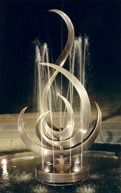 Custom Made Anahata Fountain