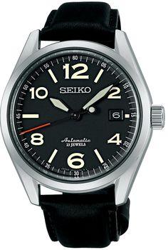 Amazon.com: SEIKO Mechanical self-winding watch (with manual winding) SARG011 Men: Watches