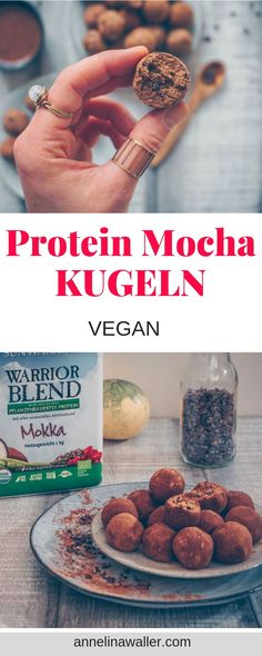 Erdnuss Mocha Kugeln protein mocha kugeln, vegane r Protein Erdnuss Mocha Kugeln protein mocha kugeln, vegane r. -Protein Erdnuss Mocha Kugeln protein mocha kugeln, vegane r. Protein Snacks, Cereal, Vegetables, Breakfast, Vegan Desserts, Food, Hobbies, Healthy Vegan Desserts, Koken