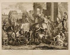 Triumphal Entry of Alexander into Babylon, 1675. Gérard Audran. After Charles Le Brun.