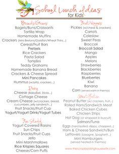 School Lunch Ideas for Kids List.pdf - Google Drive