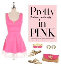 """Pretty in pink"" by theluckyknot on Polyvore"