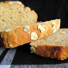 Honey Oat Quick Bread--eat this warm with Cinnamon Honey Butter.  It's so delicious!!