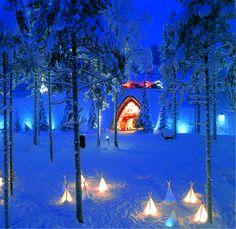 The magical Santa village in Finland