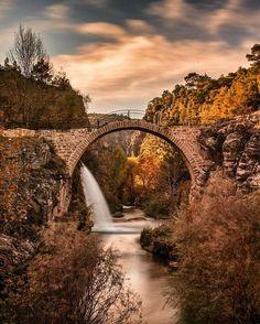 Clandras köprüsü - Clandras Bridge #uşak (Photographer: onderkoca)