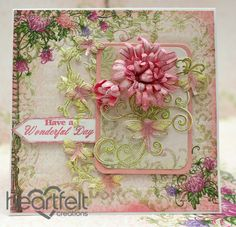 Heartfelt Creations | Wonderful Day Pink Enchanted Mums