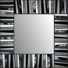 Vitrail mosaïque miroir