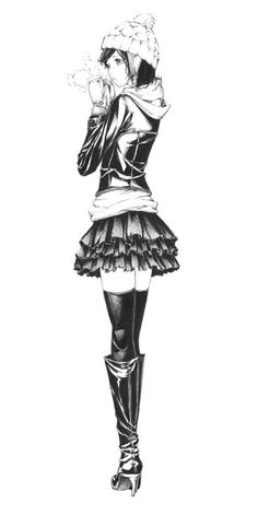 #MangaKawaii Manga Kawaii, Manga Anime, Anime Art, Angel Manga, Beautiful Anime Girl, I Love Anime, Winter Drawings, Character Art, Character Design