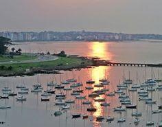 Puerto del Buceo. Montevideo, Uruguay
