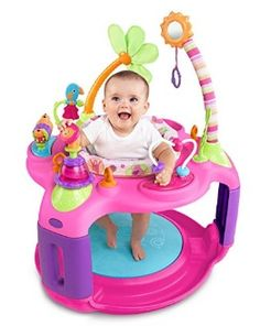 Bright Starts Sweet Safari Bounce-a-Round Activity Center - Adventure is in store for your baby girl with the Sweet Safari Bounce Around from the Pretty in Pink Collection. The seat rotates 360 degrees so baby can re Baby Bouncer Seat, Infant Seat, Baby Jumper, Safari Adventure, 6 Month Old Baby, Activity Centers, Play Activity, Baby Needs, Baby Play