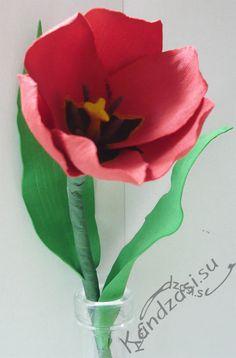 Готовый тюльпан