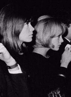 Françoise Hardy, Sylvie Vartan à l'Olympia en décembre 1963, Jean-Marie Périer