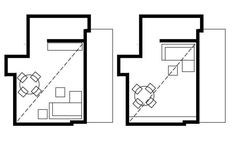 M p1 Bar Chart, Sweet Home, Ideas, Diner Decor, Small Condo, Flats, Small Living Rooms, Small Dining Rooms, House Beautiful