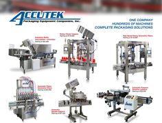 Do you need to automate and integrate your packaging systems? Accutek provides custom packaging system design and project solutions that can improve your packaging efficiency.