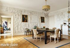News and Trends from Best Interior Designers Arround the World Top Interior Designers, Best Interior, Elle Decor, Decoration, Switzerland, Dining Table, Elegant, Saint, Modern