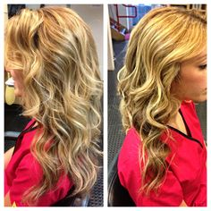 This beachy haircut and style by Shelly just screams summer! #hairstyle #haircut #longhairdontcare #kms #quickblowdry #beachwaves #sparkshairdesign @_shellylynn www.facebook.com/sparkshairdesign www.sparkshairdesign.com