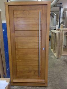 Bespoke Accoya door, made by Westgate Joinery