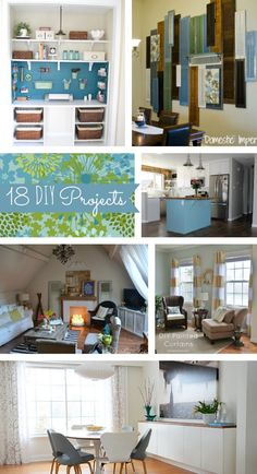 #18 GORGEOUS Cottage Home Decor Do it Yourself Projects - Home Stories A to Z