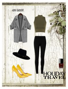 holiday travel ♡ by aya-halabi on Polyvore featuring WearAll, Max Studio, Sergio Rossi, Zimmermann and Chanel