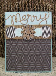 Giddy Stamper: Merry Sparkle Snowflake ~ MM71