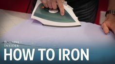 How to iron a dress shirt - YouTube
