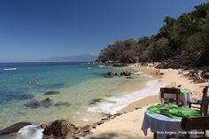 A nice spot for lunch, no? Las Caletas Island on the western coast of Mexico.