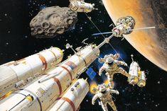 Home / Twitter Sci Fi Short Stories, Science Fiction, 70s Sci Fi Art, 1980s Art, Sci Fi Comics, Artistic Installation, Retro Futuristic, Space Exploration, Comic Books Art