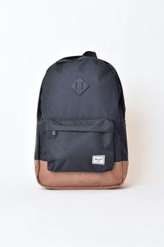 d7724030c1f Heritage Backpack - Black  Saddle