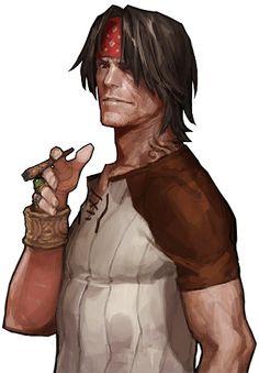 Tristan_(NPC) Game Character Design, Character Development, Character Drawing, Character Design Inspiration, Character Concept, Concept Art, D D Characters, Fantasy Characters, Kim Bum