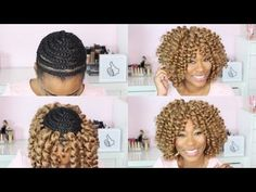 New crochet braids hairstyles afro watches ideas Crotchet Braids, Crochet Braids Hairstyles, Bob Hairstyles, Braided Hairstyles, Curly Crochet Hair Styles, Crochet Braid Styles, Curly Hair Styles, Natural Hair Styles, Crochet Braid Pattern