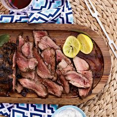 Greek-Style Leg of Lamb | Tender lamb is traditional for Easter. Here, 10 excellent ways to make it.
