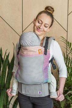 Coast Mad Hatter Wild Things Natural Weft TULA BABY CARRIER