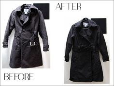 Freezing rain here now but Spring is coming! Be prepared by re-freshing your fav Spring trench with