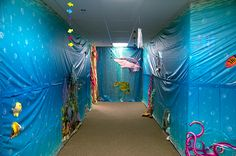 Under the sea walkway at Weird Animals VBS!