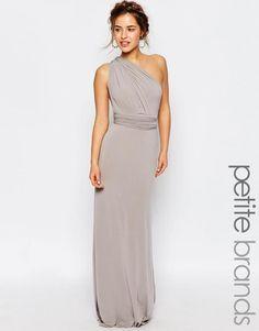 Petite WEDDING Multiway Fishtail Maxi Dress http://picvpic.com/women-dresses-evening-formal-dresses/petite-wedding-multiway-fishtail-maxi-dress#Gray?ref=u7OYqF