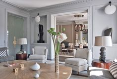 Image result for 70's parisian apartment\