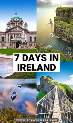 The Ultimate 7 Day Ireland Road Trip Itinerary - - A 7 Day Itinerary of both the West and East Coast of Ireland, full of amazing sights including the iconic Wild Atlantic Way and spectacular Antrim Coast. Ireland Travel Guide, Europe Travel Guide, Travel Guides, Europe Destinations, European Vacation, European Travel, Cool Places To Visit, Places To Travel, Ukraine