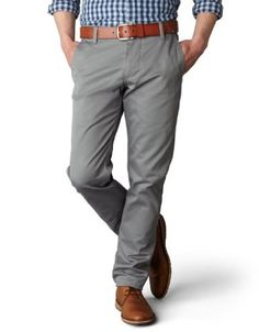 Dockers Men's Alpha Slim Fit Pant, go great with some desert boots for an easy, affordable, in-style outfit.