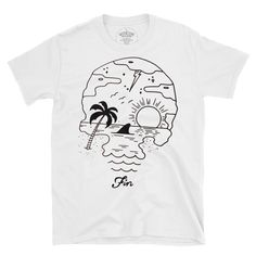 fin. Bad To The Bone, Good Old, Rock N Roll, Skull, Classic, Mens Tops, Design, Derby, Classic Books