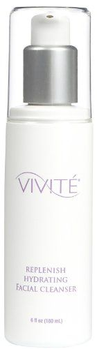 Vivite Replenish Hydrating Facial Cleanser 6 ounce ** Learn more by visiting the image link. (Note:Amazon affiliate link)