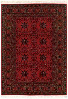 Kashimar 7870 Afghan 1872 Nomad Red by Couristan Afghan Rugs, Throw Rugs, Rug Studio, Rugs Usa, Geometric Rug, Red Rugs, Traditional Rugs, Wool Area Rugs, Floor Rugs